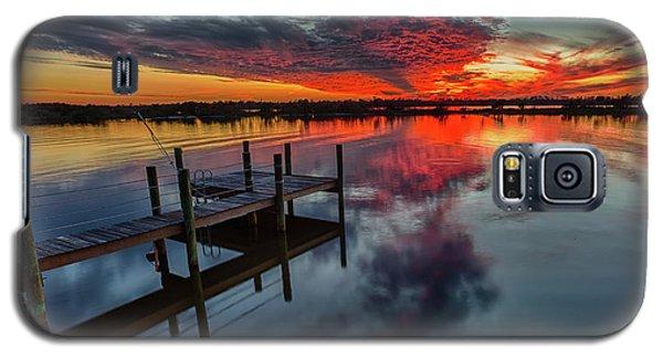Halifax River Sunset Galaxy S5 Case