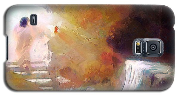 Hallelujah, He Is Risen Galaxy S5 Case by Wayne Pascall