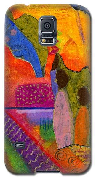 Hallelujah Praise Galaxy S5 Case by Angela L Walker