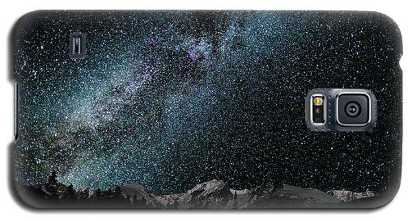 Hallet Peak - Milky Way Galaxy S5 Case