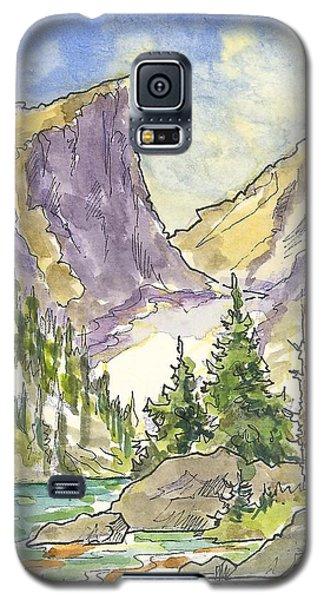 Hallett's Peak Galaxy S5 Case