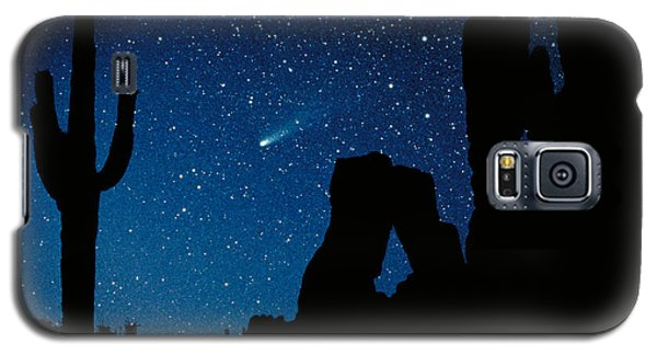 Halley's Comet Galaxy S5 Case
