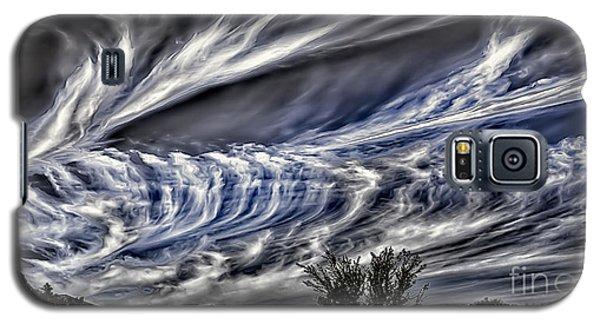 Halloween Clouds Galaxy S5 Case by Walt Foegelle