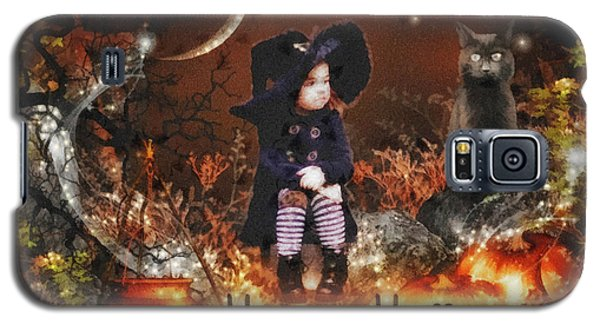 Halloween Girl Galaxy S5 Case by Mo T