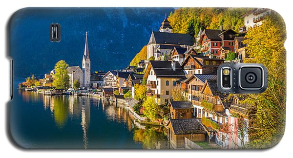 Hallstatt In Fall Galaxy S5 Case