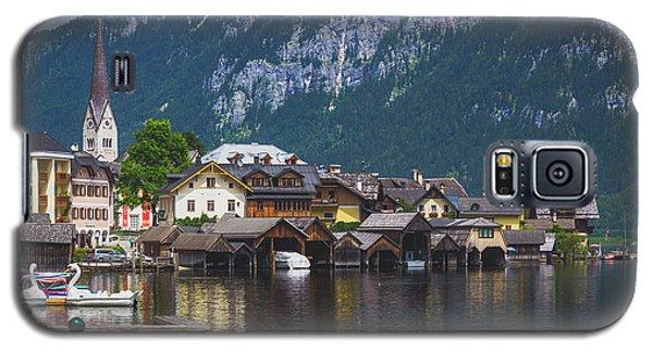 Hallstatt Lakeside Village In Austria Galaxy S5 Case