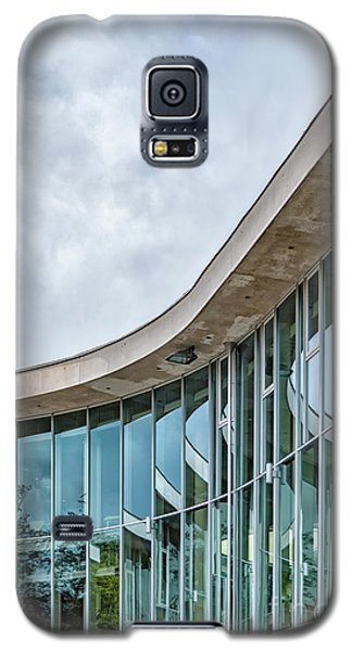 Galaxy S5 Case featuring the photograph Halmstad University Labrary Detail by Antony McAulay