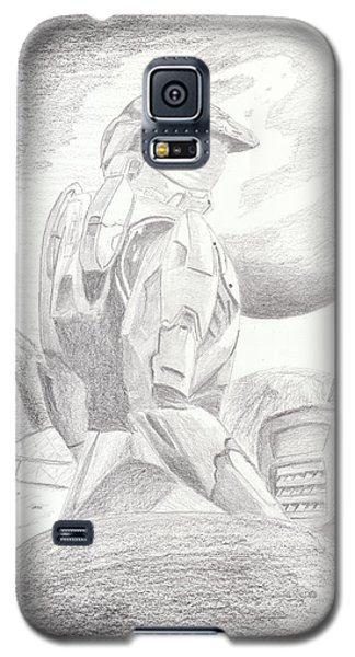 Halo Soldier Galaxy S5 Case