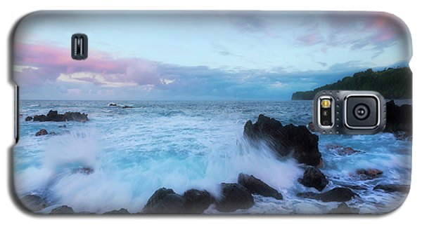 Galaxy S5 Case featuring the photograph Hamakua Sunset by Ryan Manuel
