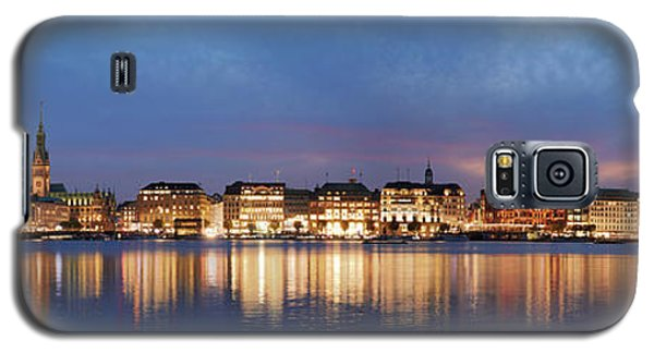 Hamburg Alster Panorama Galaxy S5 Case