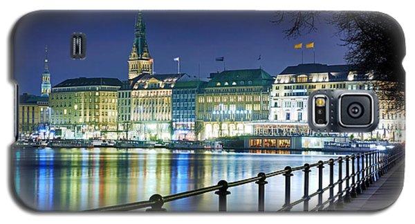 Hamburg At Night Galaxy S5 Case