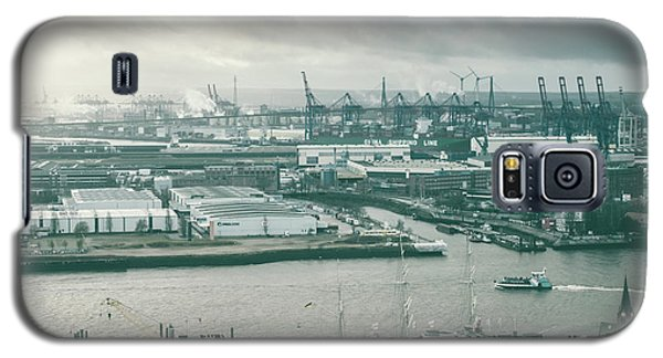 Hamburg Port  Galaxy S5 Case