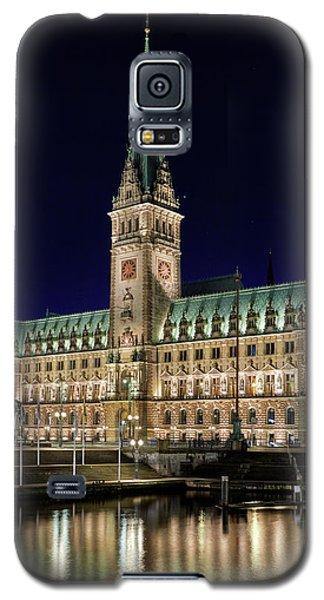 Hamburg Town Hall At Night Galaxy S5 Case