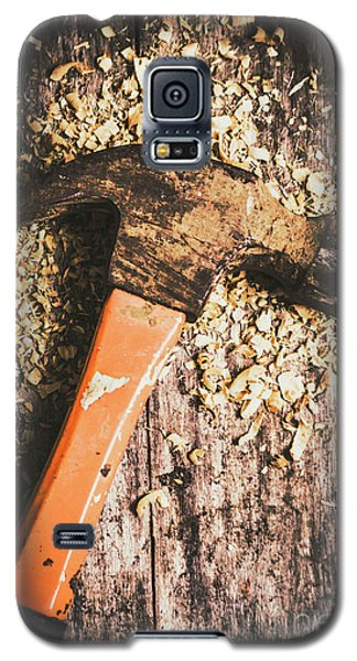 Hammer Details In Carpentry Galaxy S5 Case