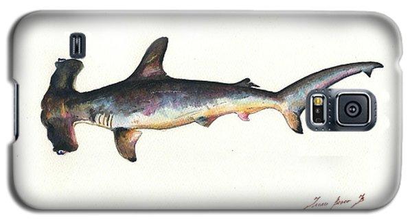 Nurse Shark Galaxy S5 Case - Hammerhead Shark by Juan Bosco