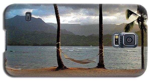Hammock At Hanalei Bay Galaxy S5 Case