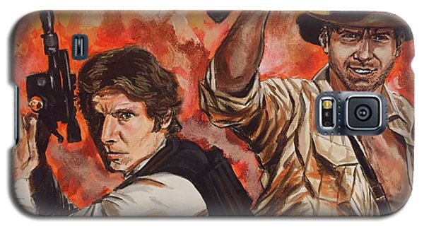 Han Solo And Indiana Jones Galaxy S5 Case