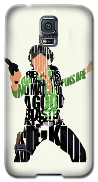 Han Solo From Star Wars Galaxy S5 Case