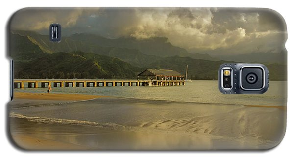 Hanalei Bay Reflections Galaxy S5 Case by Stephen  Vecchiotti