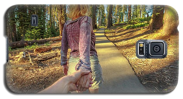 Hand In Hand Sequoia Hiking Galaxy S5 Case