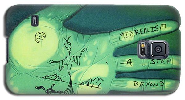 Hand Print Galaxy S5 Case