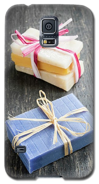 Galaxy S5 Case featuring the photograph Handmade Soaps by Elena Elisseeva
