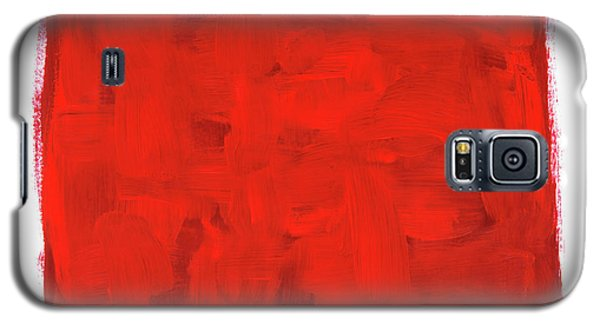 Handmade Vibrant Abstract Oil Painting Galaxy S5 Case by GoodMood Art