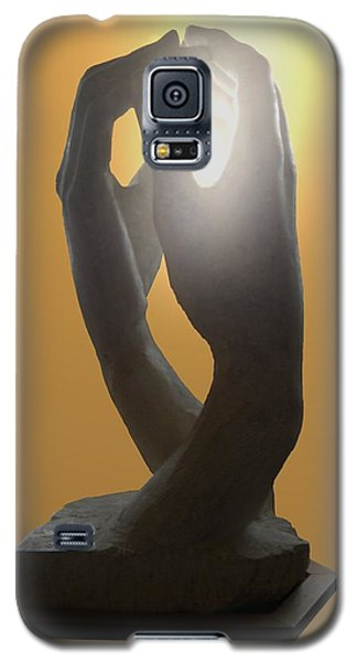 Hands By Rodin Galaxy S5 Case by Manuela Constantin