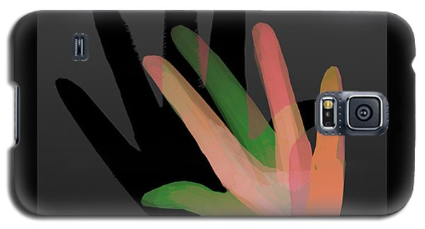 Hands In Pair Galaxy S5 Case by Asok Mukhopadhyay