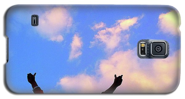 Hands In The Air Galaxy S5 Case