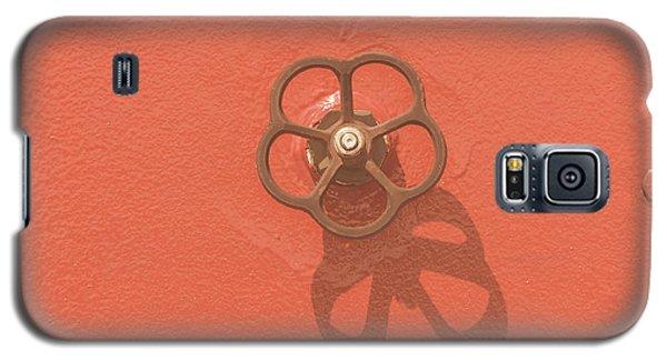 Handwheel - Orange Galaxy S5 Case