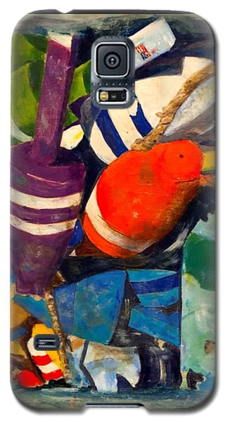 Hangin With The Buoys Galaxy S5 Case by Beth Saffer