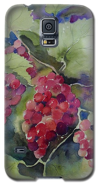 Galaxy S5 Case featuring the painting Hanging Around by Sandra Strohschein