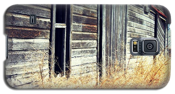 Galaxy S5 Case featuring the photograph Hanging By A Bolt by Julie Hamilton
