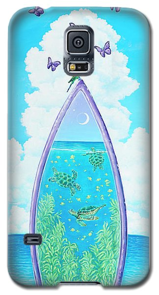 Hanging On To Paradise Galaxy S5 Case
