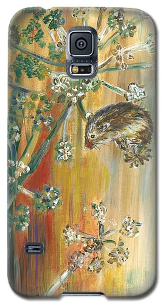 Hanging On - Painting Galaxy S5 Case by Veronica Rickard