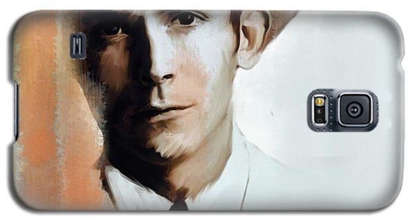 Hank Williams Faiths Fire Galaxy S5 Case by Iconic Images Art Gallery David Pucciarelli