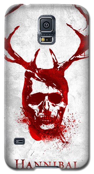 Hannibal Tv Show Poster Galaxy S5 Case