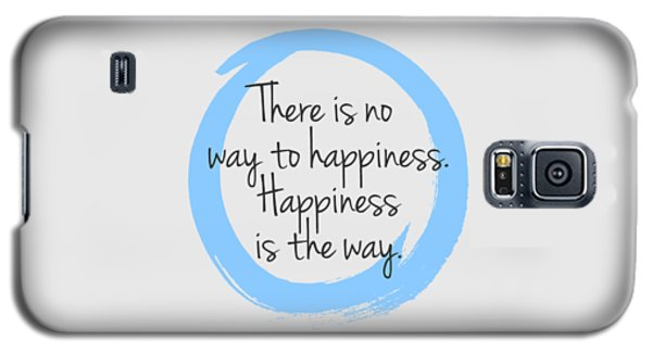 Galaxy S5 Case featuring the digital art Happiness by Julie Niemela
