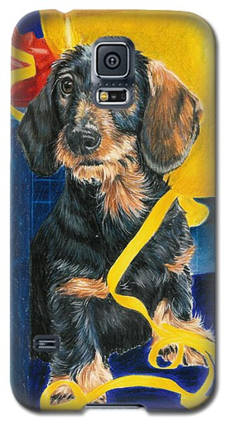 Galaxy S5 Case featuring the drawing Happy Birthday by Barbara Keith