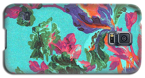 Happy Blooms Galaxy S5 Case