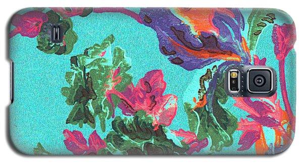 Happy Blooms Galaxy S5 Case