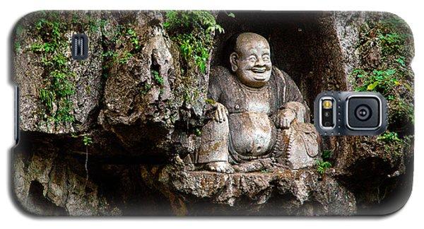 Happy Buddha Galaxy S5 Case by Harry Spitz