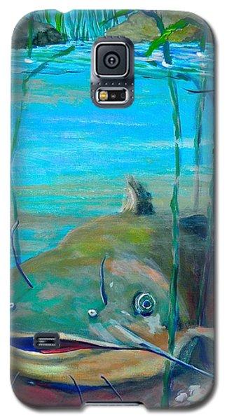 Happy Catfish Galaxy S5 Case