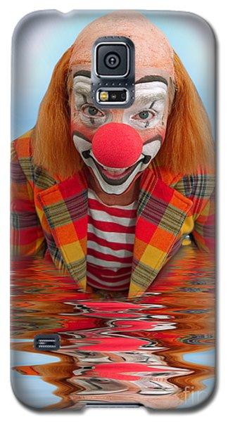 Happy Clown A173323 5x7 Galaxy S5 Case