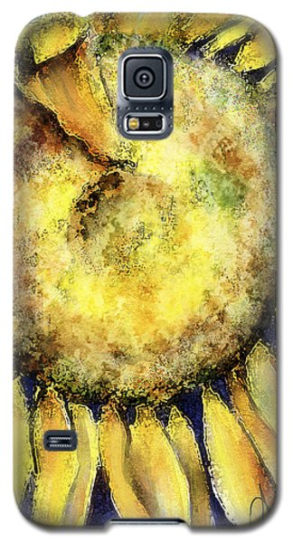 Galaxy S5 Case featuring the painting Happy Day by Annette Berglund