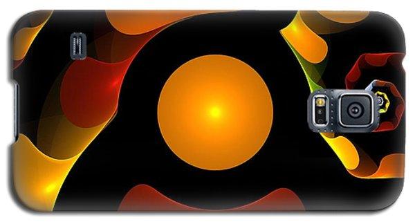 Impressionism Galaxy S5 Case - Happy Digit by Steve K