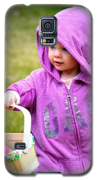 Galaxy S5 Case featuring the photograph Happy Easter by Barbara Dudley