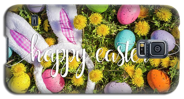 Galaxy S5 Case featuring the photograph Happy Easter by Teri Virbickis