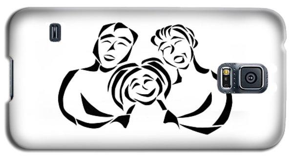 Happy Family Galaxy S5 Case by Delin Colon